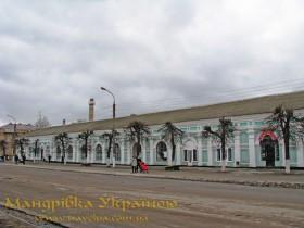 Путивль. Колишні торгові ряди купців Пономарьових, вул. Кірова, №61